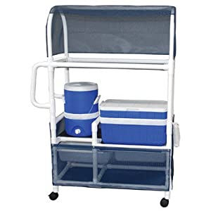 Amazon Com Hydration Cart With 48 Quart Ice Chest 5