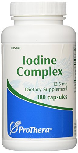 IODE COMPLEXE 12,5 MG - 180 CAPSULES