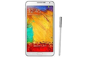 Samsung Galaxy Note 3 Smartphone débloqué 4G (Ecran 5.7 pouces - 32 Go - Android 4.3 Jelly Bean) Blanc (import Europe)