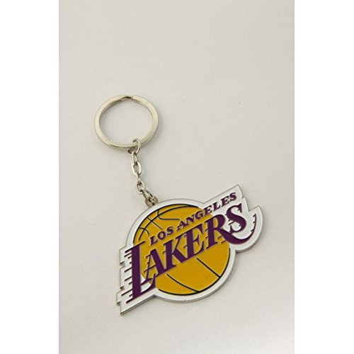 Los Angeles LA Lakers Basketball NBA Keyring Keychain Metal Logo Emblem Official