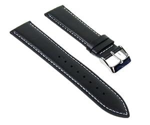 Casio Correa de Reloj cuero Band 22mm negro MTP-1336L-1AEF MTP-1336L marca Casio Correa de Reloj