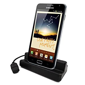TheTechTree - USB Desktop Sync Cradle Dock Docking Station and Charger For Samsung Galaxy Note GT-N7000