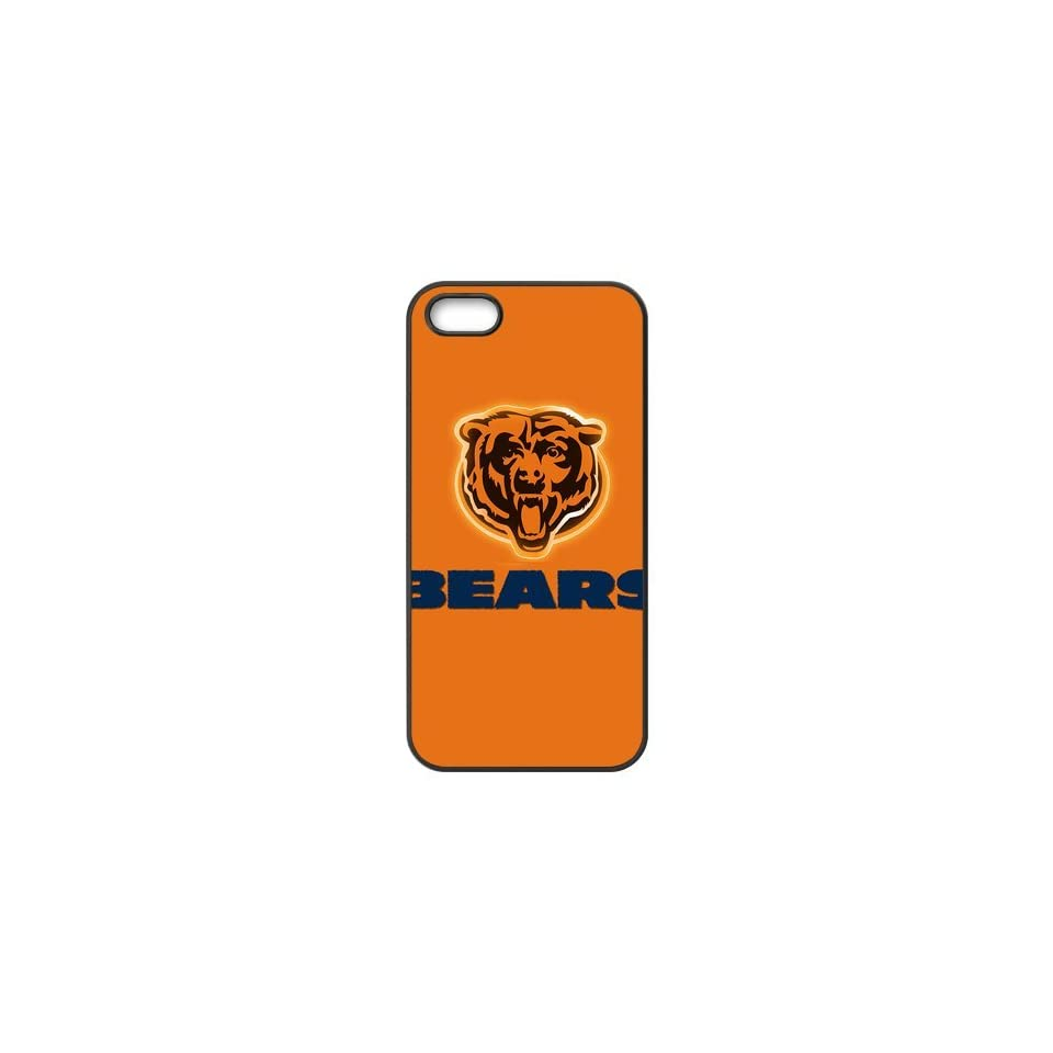 Hot Sale NFL Chicago Bears Custom High Quality Inspired Design TPU Case Protective cover For Iphone 5 5s iphone5 NY128 Cell Phones & Accessories
