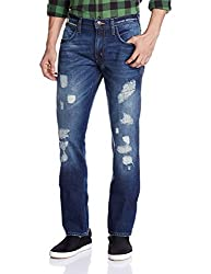 Wrangler Mens Relaxed Fit Jeans (8907222697105_W15329W21990_34W x 33L_Used Blue)