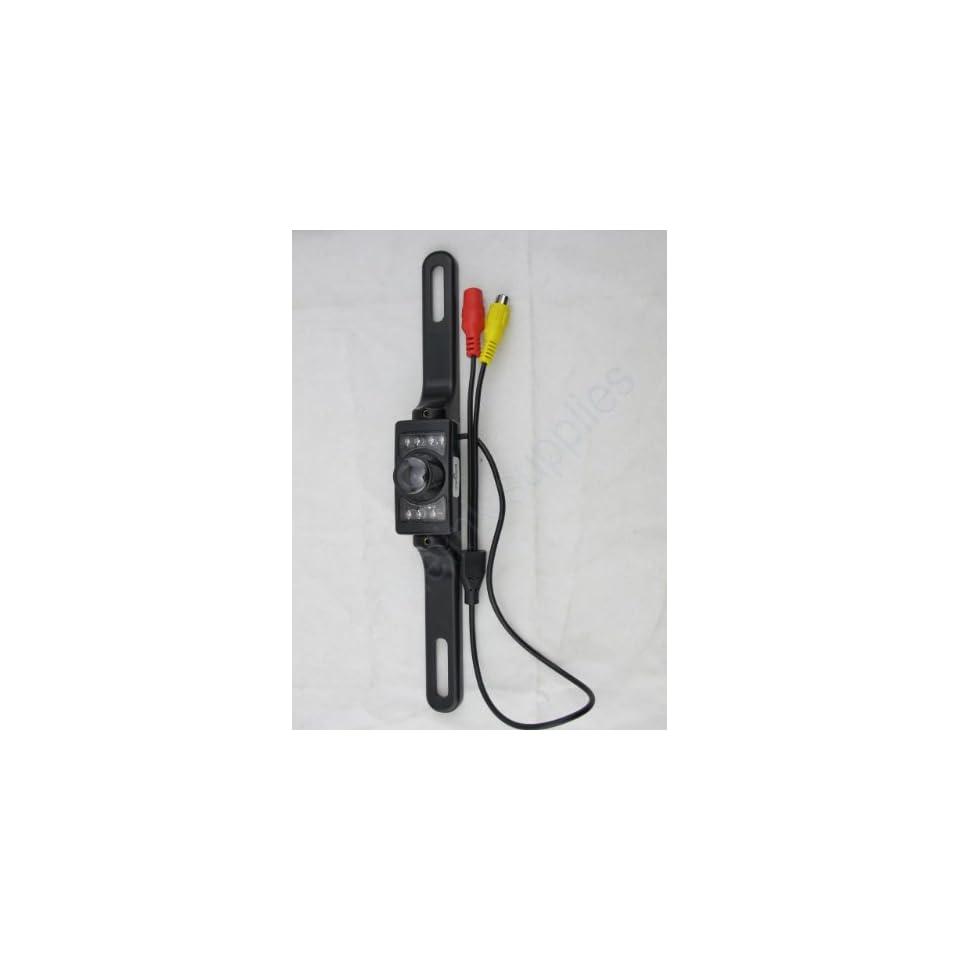 Car Reverse Rear View / Backup Ir LED Night Vision Color Camera Ntsc Standard