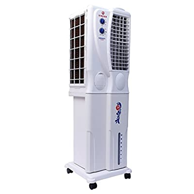 Singer Liberty Senior 34-Litre Tower Cooler (White)