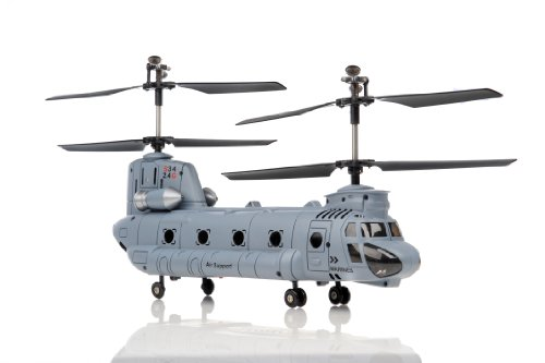 Images for Syma S34 3 Channel Chinook RC Helicopter 2.4ghz (Blue)