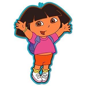 """Amazon.com: Dora the Explorer vynil car sticker 4"""" x 6"""": Automotive"""