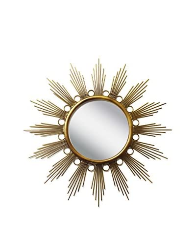 PTM Images Galaxy Mirror, Bronze/Gold