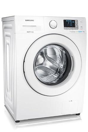 Samsung WF70F5E3U4W machine à laver - machines à laver (Autonome, Charge avant, A+++, B, Blanc, LED)