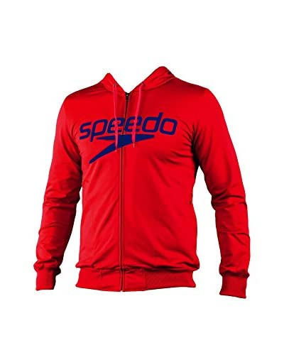 Speedo T-Shirt Manica Corta Moritz Female Hood Top W Zippe
