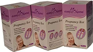 Easy@Home Branded 60 Pregnancy Tests, 60-Count