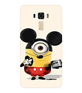 EPICCASE Mickey Sytled Minion Mobile Back Case Cover For Asus Zenfone 2 Laser ZE551KL (Designer Case)