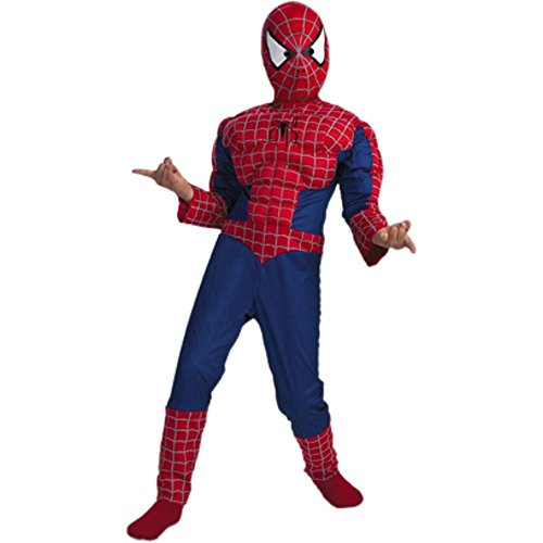 Child's Spiderman 2 Muscle Chest Costume (Size: Large 7-10 Plus)