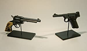 Gun, Pistol, Hand Gun Artifact Display Stand, H-Arm, HA-66B
