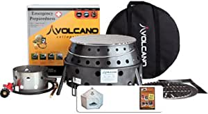 Volcano Collapsible Cooking Combo