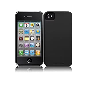 NEW OEM CASEMATE BARLEY THERE SLIM BLACK CASE FOR IPHONE 4