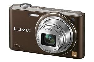 Panasonic DMC-SZ3EG-T Appareil photo numérique Lumix avec écran LCD 6,9 cm, capteur CCD 16,1 Mpx, zoom optique 10x, mémoire 90 Mo et port USB