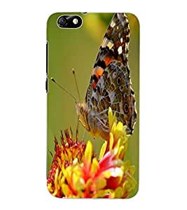 ColourCraft Beautiful Butterfly Design Back Case Cover for HUAWEI HONOR 4X