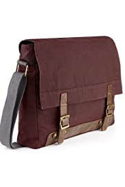 Pure Cotton Waxed Dispatch Bag [T09-3859-S]