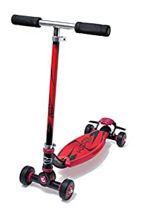 Fuzion 4 Wheel Sport Scooter, Red
