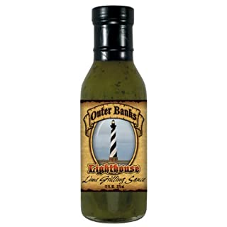 4 Pack Outer Banks 12 oz Lime Grilling Sauce