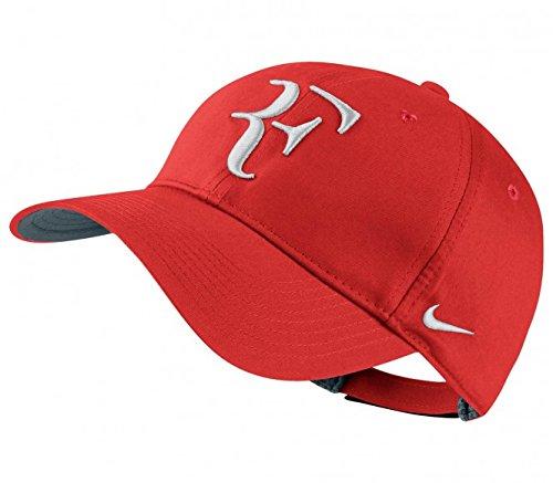 Nike Mens Roger Federer RF Hybrid Tennis Hat Crimson Red/Flint Grey/White (Roger Federer Cap compare prices)