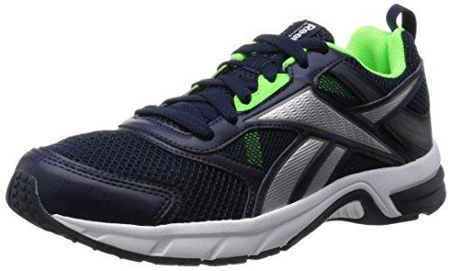 Reebok Pheehan Run 4.0 Zapatillas de deporte, Hombre, Azul / Verde / Gris, 42 1/2
