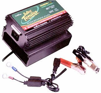 Battery Tender 022-0142-DL-WH Power Tender Plus 12V Compact Charger