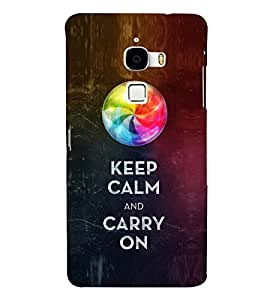 EPICCASE Carry on like a boss Mobile Back Case Cover For LeTV Le Max (Designer Case)