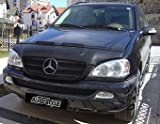 Bonnet Bra Mercedes-Benz ML 00-04 Black