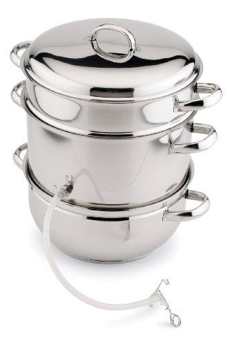 Back to Basics N12 Stainless Steel Juicer/Cooker Set Back To Basics Steam Juicer