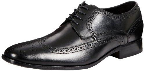 Мужские кожаные туфли с удлиненным носом