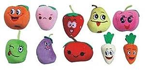 10PCS A SET Finger Puppet/Dolls/Toys Story-telling Props/Tools Toy Model Babies/Kids/Children Toys,Fruit by Viskey