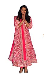 Shree Ganesh Women's Georgette Unstitched Dress Materials [D6]