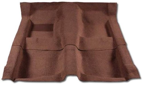 DATSUN 240Z CARPET PASSENGER AREA - 2PC PASSENGER AREA ONLY. LEFT & RIGHT. - GINGER (1970 70 1971 71 1972 72 1973 73 )