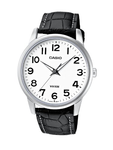 Casio Men's Analogue Watch MTP-1303L-7BVEF with Leather Strap
