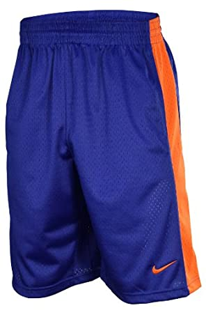 Nike Mens Mesh Athletic Work Out Training Shorts-Royal by Nike