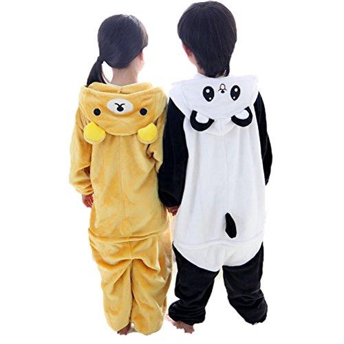 Nanxson(TM) children Romper jumpsuit coat romper LTET0012 (85, panda) (Pinky Winky)
