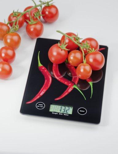 Wenko 25223100 Balance de Cuisine Digitale Poivron