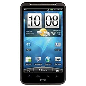Htc A9192 Inspire 4g Unlocked Phone With Android Os 3g Support 8 Mp Camera Wi-fi And Gps--black