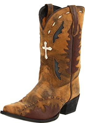 Dan Post Boys' Anthem Cross Vintage Cowboy Boot