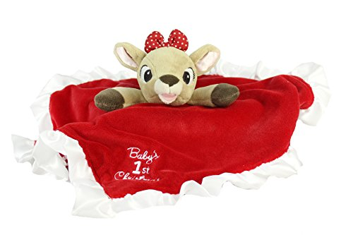 Baby's First Christmas Blanky - Clarice the Reindeer - 1