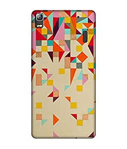 small candy 3d Printed Back Cover For Lenovo A7000 / K3 Note - Multicolor pattern