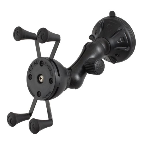 Ram Mounting Systems Rap-B-166-2-Un7U / Ram Mount X-Grip Composite Twist Lock Suction Cup Mount