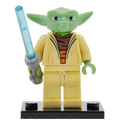 LEGO Minifigure Compatibili Yoda Dagobah Jedi Star Wars