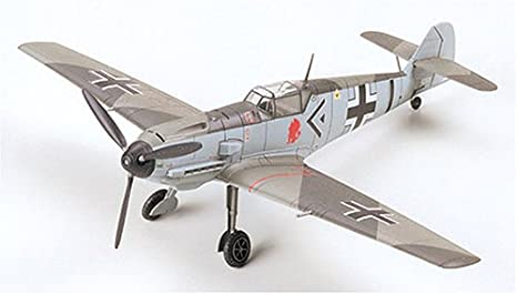 Tamiya - 60750 - Maquette - Messerschmitt - BF109E-3 - Echelle 1:72