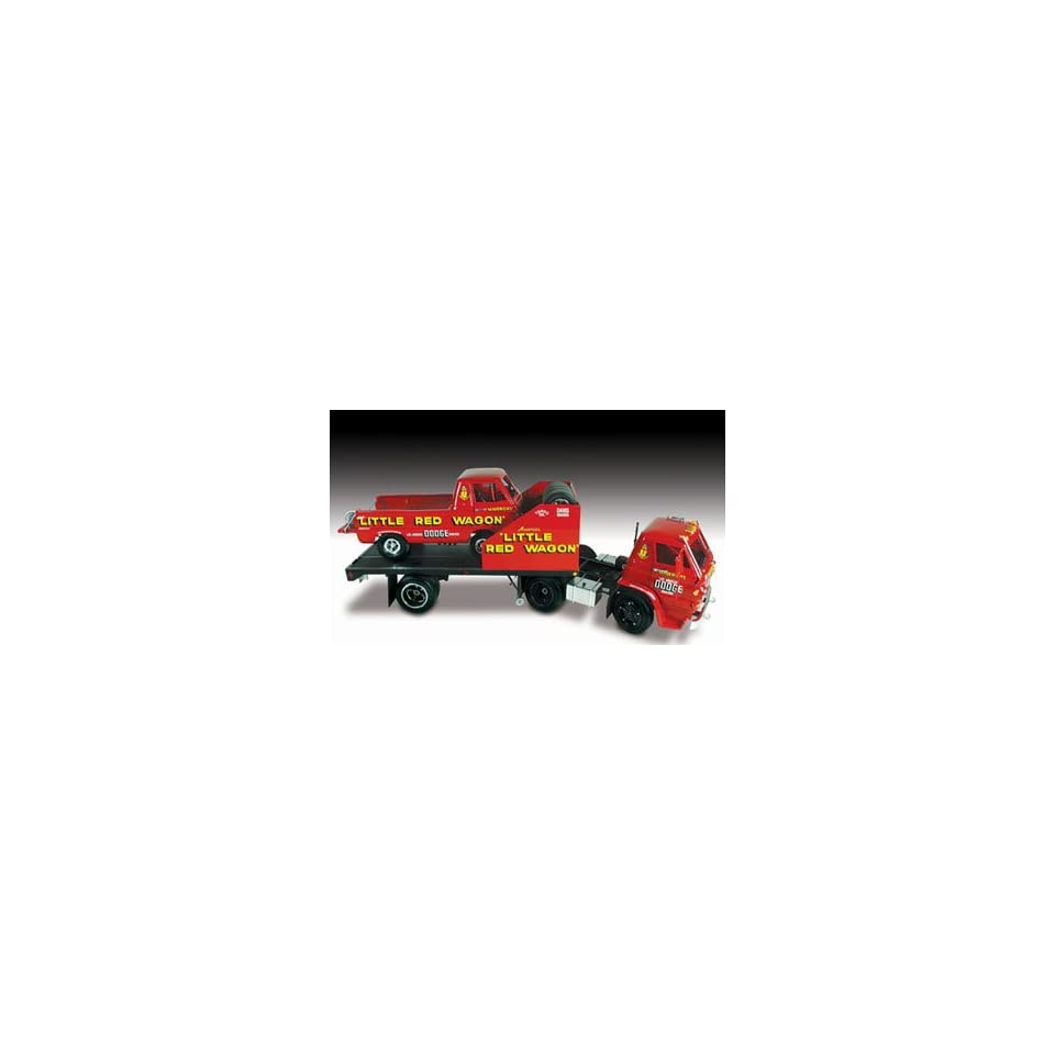 24 Little Red Wagon Drag Racing Team  Toys & Games