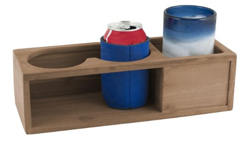 Seateak 62616 Insulated Two-Drink Rack
