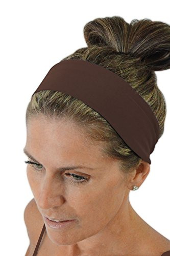 ice cream INTENSITY Terra Brown Sports Hair Band: No slip, Antibacterial, Hypoallergenic and Thermo Regulating (Ice Cream Athletics compare prices)